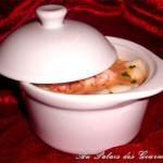 Cocotte Navarin de homard et noix de saint-jacques à l'armoricaine